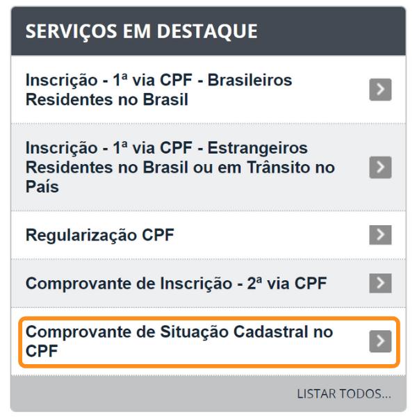 Consulta CPF Grátis - Serviços Destaque