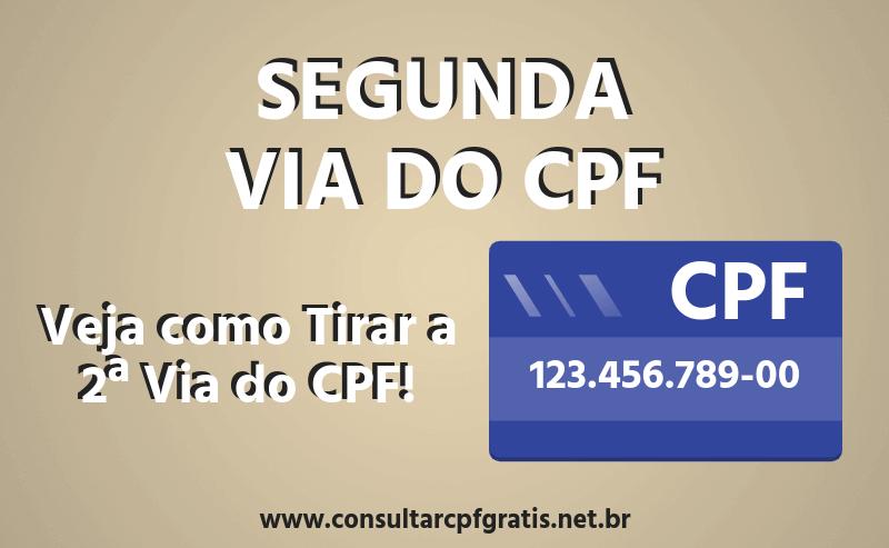2ª Via do CPF