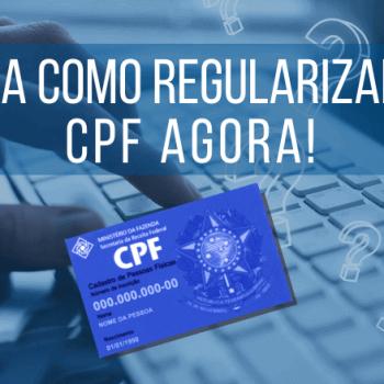 Veja como Regularizar o CPF AGO