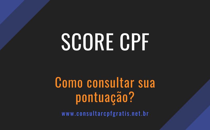 score cpf