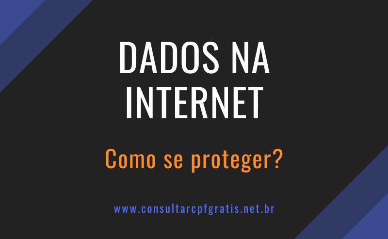 como proteger meus dados na internet